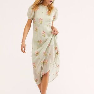 Free People Everything and More Embroidered Dress